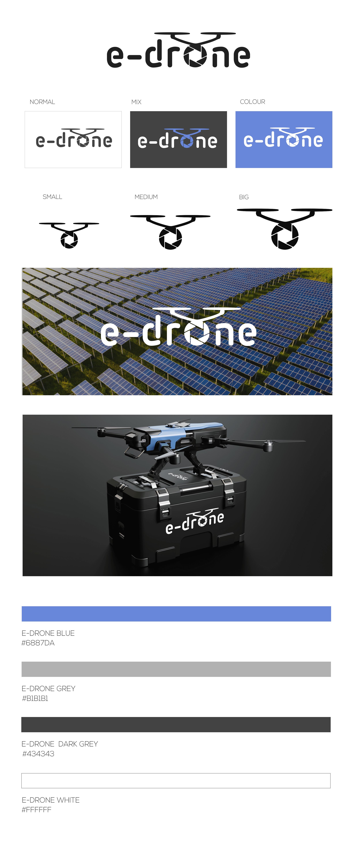 E-drone arculat